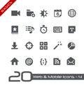 Sieci wiszącej ozdoby icons podstawy Obrazy Royalty Free