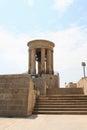Siege bell memorial in Valletta, Malta. Royalty Free Stock Photo