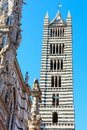 Siena Cathedral bell tower, Tuscany, Italy