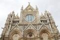 Siena Cathedral facade, Siena, Tuscany, italy Royalty Free Stock Photo