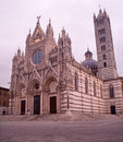 Siena - cathedral Santa maria Assunta Royalty Free Stock Photography