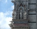 Siena cathedral scenery around in italy Royalty Free Stock Photography