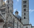 Siena cathedral scenery around in italy Royalty Free Stock Photo