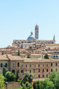 Siena cityscape of the famous tuscan city including its dome Stock Images