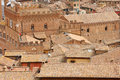 Siena downtown roofs Stock Photo