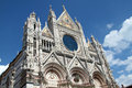 Siena duomo wonderful and famous dome of italy Stock Images