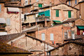 Siena historic architecture Royalty Free Stock Photos
