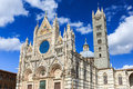 Siena italy the cathedral of duomo di Royalty Free Stock Photos