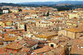 Siena medieval city of italy view old town Stock Image