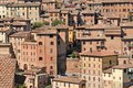 Siena - Tuscany houses, Italy Stock Photos