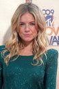 Sienna miller arriving at the mtv movie awards in universal city ca on may Royalty Free Stock Image