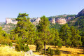 Sierra de cuenca castilla la mancha view of spain Stock Photos