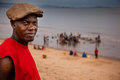 Sierra Leone, West Africa, the beaches of Yongoro Royalty Free Stock Photo