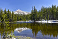 Sierra nevada california at east border of yosemite national park Stock Image