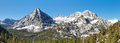Sierra Nevada Mountain Peaks Panorama Royalty Free Stock Photography
