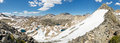 Sierra nevada panorama from glen pass california usa Royalty Free Stock Photo