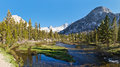 Sierra Nevada Scenery Royalty Free Stock Images