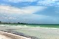 Siesta Key Beach in Sarasota Florida Royalty Free Stock Photo