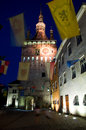 Sighisoara - The Clock Tower Stock Image