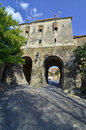 Sighisoara gate Stock Images