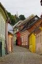 Sighisoara the town where vlad tepes draculea was born transylvania romania Royalty Free Stock Image