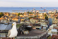 Sights of istanbul view of city streets monuments hotels and marmara sea Royalty Free Stock Image