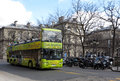 Sightseeing bus open tour paris france Stock Photos