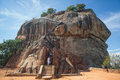 Sigiriya sri lanka lions rock entrance Royalty Free Stock Images