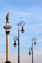 Sigismund's Column in Warsaw Royalty Free Stock Photography