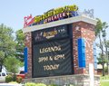 stock image of  Sign at the American Bandstand Theater, Branson Missouri