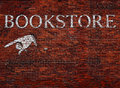 Sign for a bookstore