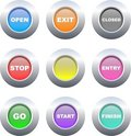 Sign buttons Royalty Free Stock Image