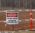 stock image of  Sign danger