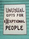 Sign for Gifts