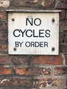 Sign - No Cycles By Order