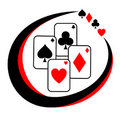 Sign poker Royalty Free Stock Images