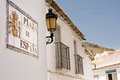 Sign of spain square tipical in andalucia Stock Photography