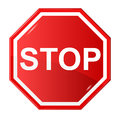 Sign stop Royalty Free Stock Image