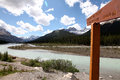 Sign to Mushroon Peak Royalty Free Stock Photo