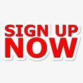 Sign Up Now Red Sign Royalty Free Stock Photo