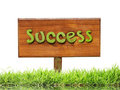 Sign with word Success Royalty Free Stock Photos