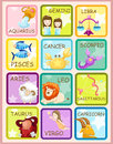 Sign zodiacs Stock Photos