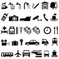 Signage objects Royalty Free Stock Images