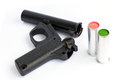 Signal gun flare pistol isolated Stock Photography