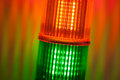 Signal lights Stock Image