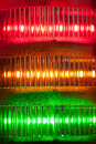 Signal lights close-up Stock Photo