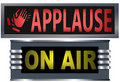 Signs On Air Applause Studio Royalty Free Stock Images
