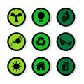 Signs icons set great for any use. Vector EPS10. Royalty Free Stock Photo