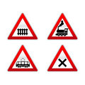 Signs traffic Stock Photography