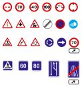 Signs traffic Στοκ Φωτογραφία
